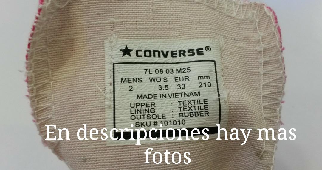 Interpersonal ciervo vestido  Zapatos Converse All Star, Niñ@s, Tallas 30-35, 10 Colores. - Bs.  240.000,00 en Mercado Libre