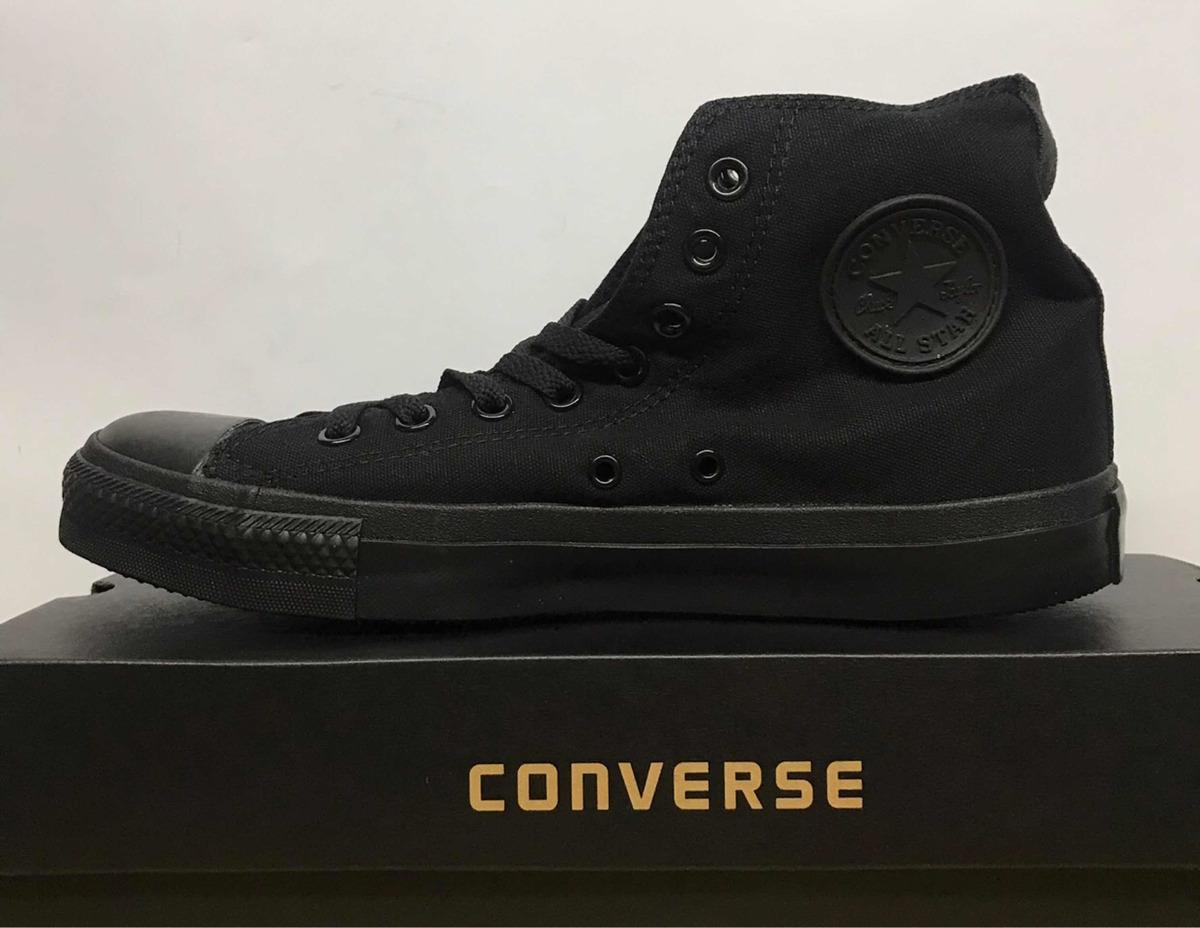 zapatos converse all star ox negro br15d8798