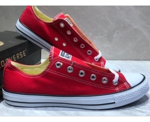 zapatos converse all star rojas ( 35 a 42) made in vietnam
