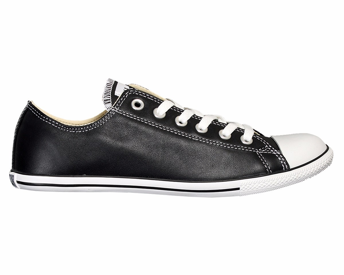 Slim 75 Bs 0 Zapatos Negro All Converse De Cuero Star Originales wqqvt8OaS