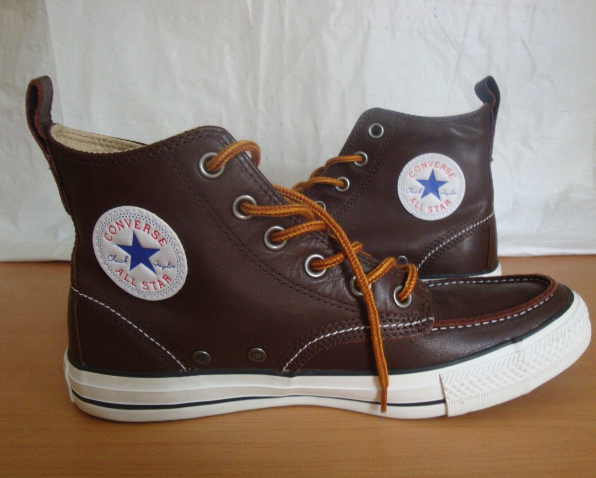 100 All Converse Bs Star Botin Cuero Tipo Zapatos Originales ZzfYwq5