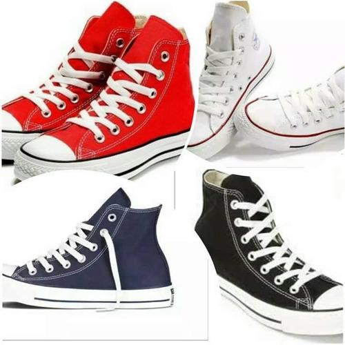 zapatos converse caña alta botines