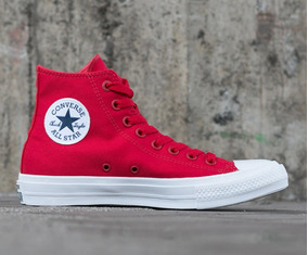 8 Red Converse SalsaTalla Zapatos Chuck Hi Taylor 2 Usa zpUMVSGqL