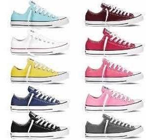 zapatos converse chuck taylor colores clasicos blanca conver