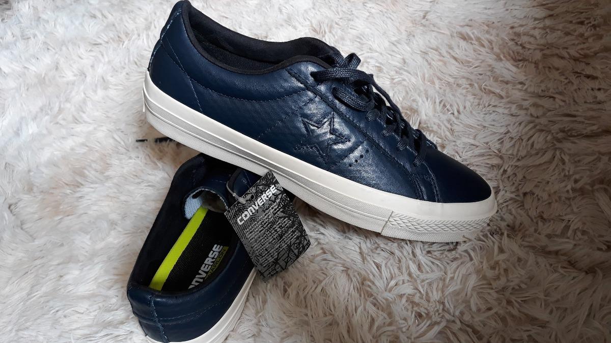 U Zapatos s 100 Hombre Y Mujer Originales De 70 Converse Cuero W8rqOwx8PS