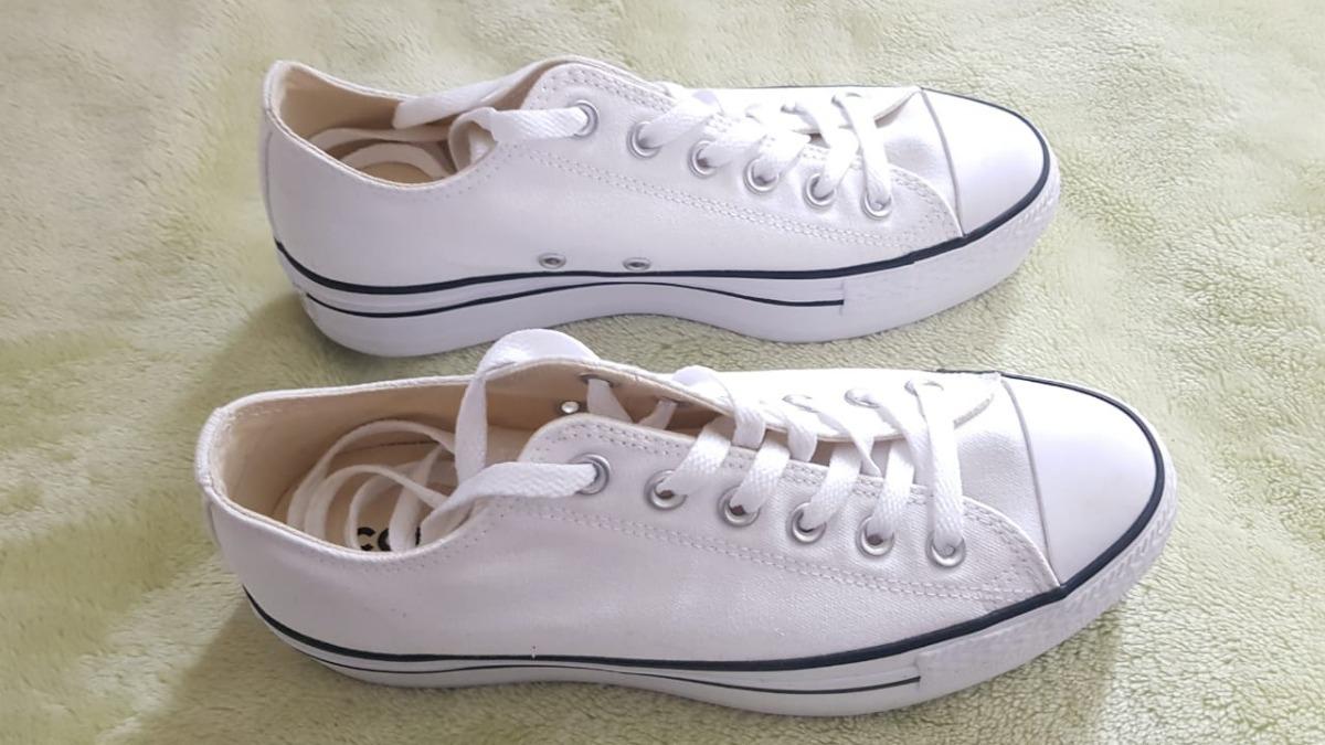 94d3f3ffe discount code for zapatos converse de mujer plataforma chuck blanco  originales. cargando zoom. f8f1f
