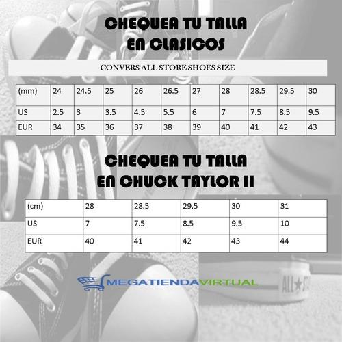 zapatos converse para hombre y mujer chuck taylor clasic