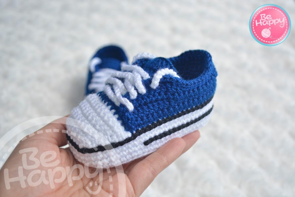 Zapatos Bebe Converse Zapatos Converse Crochet Tejido Tejido