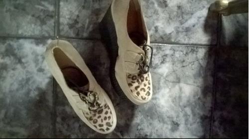 zapatos creepers con plataforma