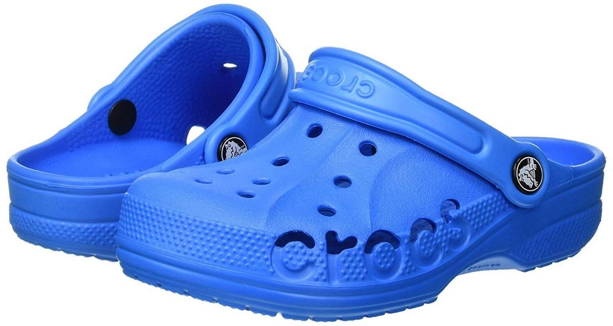 Roomy Sandalias Niño Zapatos Azul Baya Crocs Kids Fit Ocean 43Ajq5LR