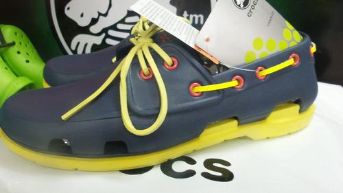 zapatos crocs de playa boat line