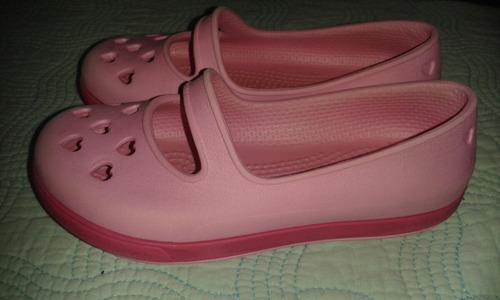 zapatos crocs para niñas talla 8