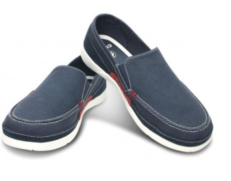 6b9b1c1d348 Hombre Zapatos Azul 00 Accent 119 Crocs Walu En Mercado Libre 1 qaASHg