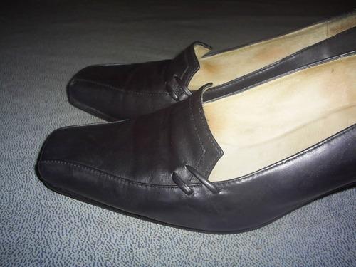 zapatos cuero 37