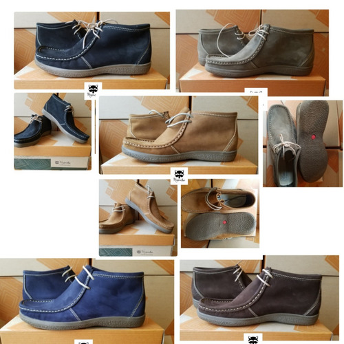zapatos cuero casuales hombre