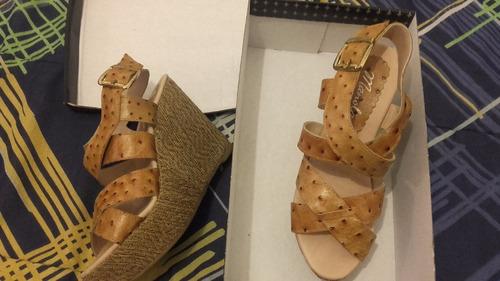 zapatos cuero con hebilla