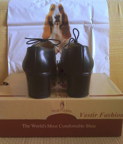zapatos cuero dama hush puppies talle 38 walking flex
