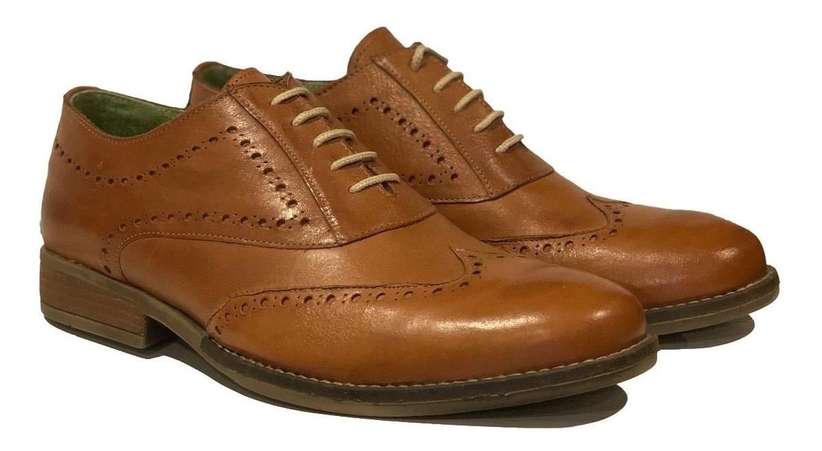 Zapatos Palermo Marron Cuero Hombre Granada f6gYby7v