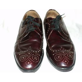 Zapatos Cuero Hombre Nº 8 Uk Muy Finos