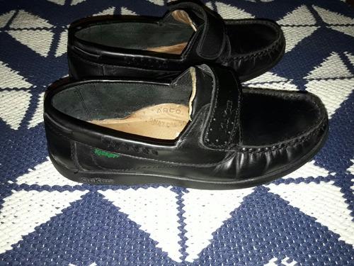 zapatos cuero kickers usados