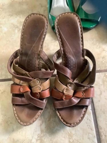 zapatos dama de mezclilla y varios