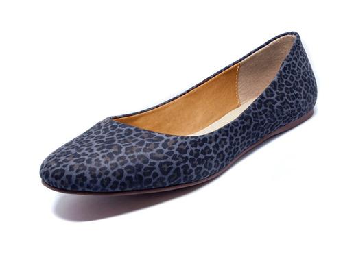 15 Anos Flats: Zapatos Dama Frenezzo Flats Wild 1100 Piel Animal Print