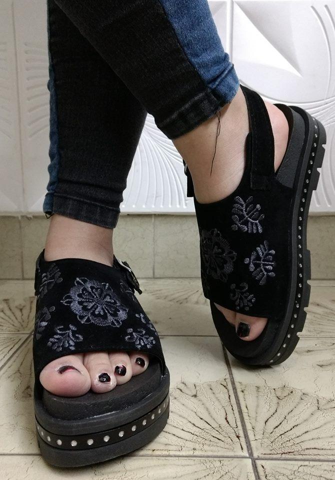 576b05c837411 Zapatos Dama Mujer Calzado Sandalias Primavera  verano 2019 ...