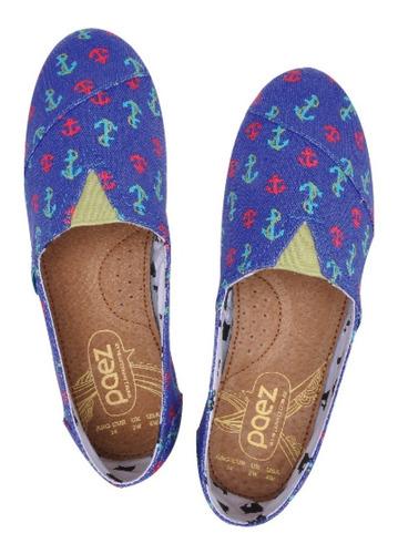 zapatos dama paez shoes modelo fleitas - tallas 35 al 40