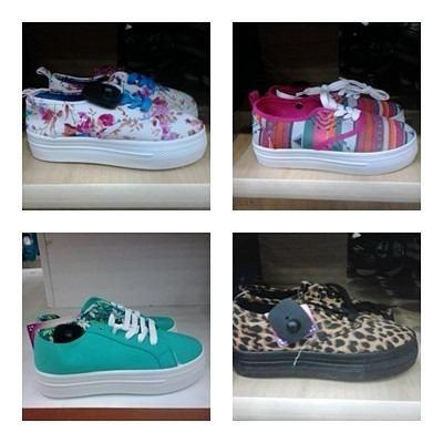 zapatos dama plataforma moda colombiana