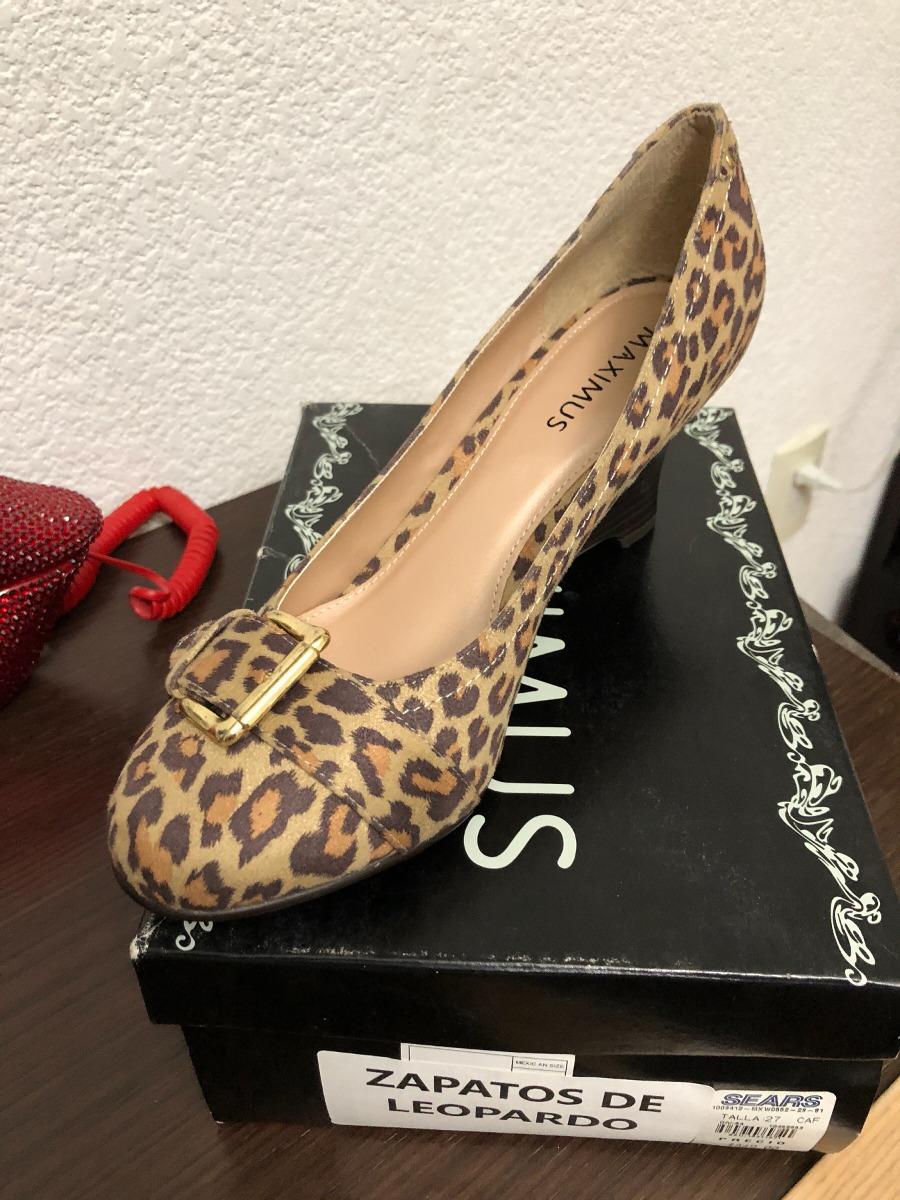 Zapatos Dama Tipo Leopardo Nuevos 62828b930b2