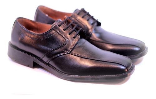 zapatos darmaz 1141 de vestir con cordones cuero negro