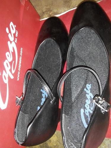 zapatos de baile capezio originales talla 8 1/2 nuevos