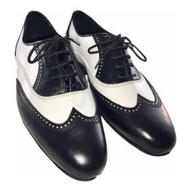Zapatos De Baile Hombre Tango Salsa Bachata Rock Flex