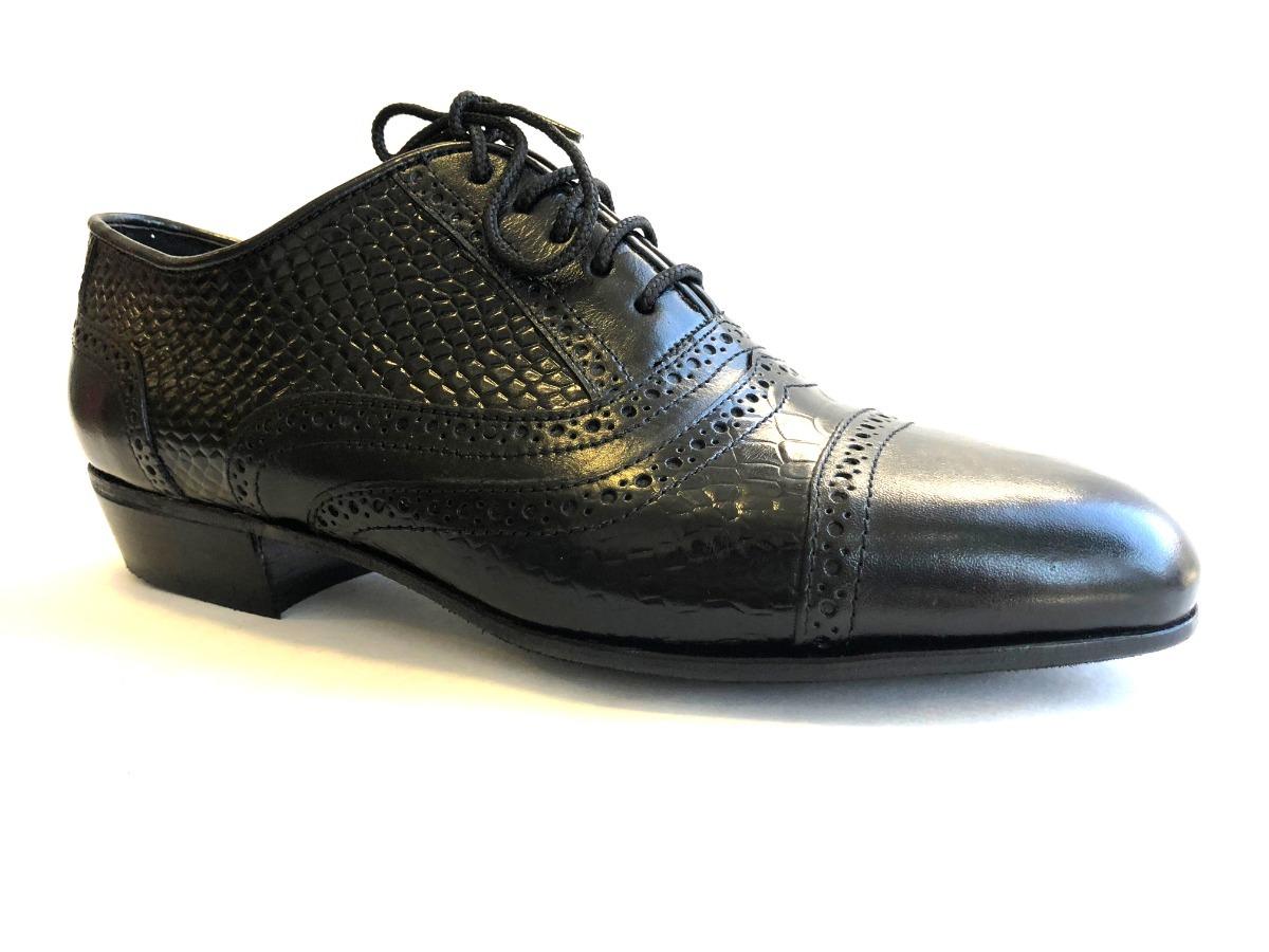 Croco 650 Para Mercado 00 Y Libre Hombre Zapatos 2 Baile En Cuero De nqUYx68p