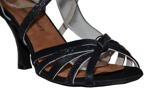 zapatos de baile salsa, bachata, ballroom, art.006 negro