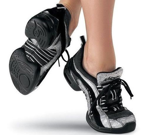 zapatos de baile sansha tipo capezio salsa casino danza jazz