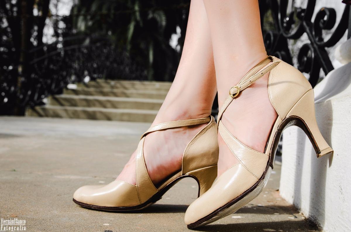 Baile Salsa Tiras Cuero Cruzada Nude Sthrdqcxb Tango Zapatos De Fiesta 4RLS5Acj3q