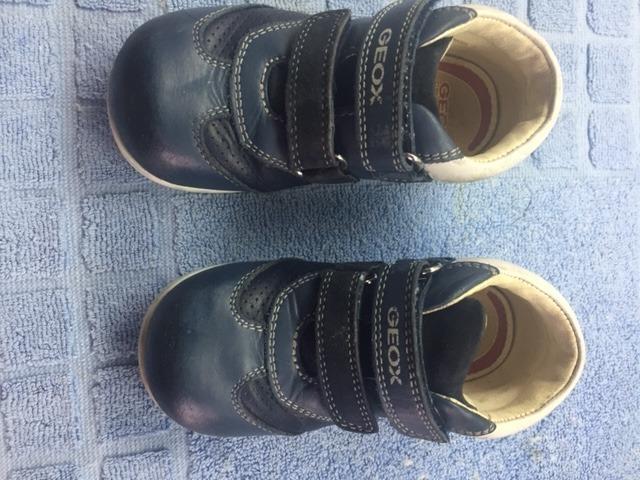 electo Menagerry Tractor  Zapatos De Bebé Usados N° 24, Geox, Importados - Bs. 500.000,00 en ...