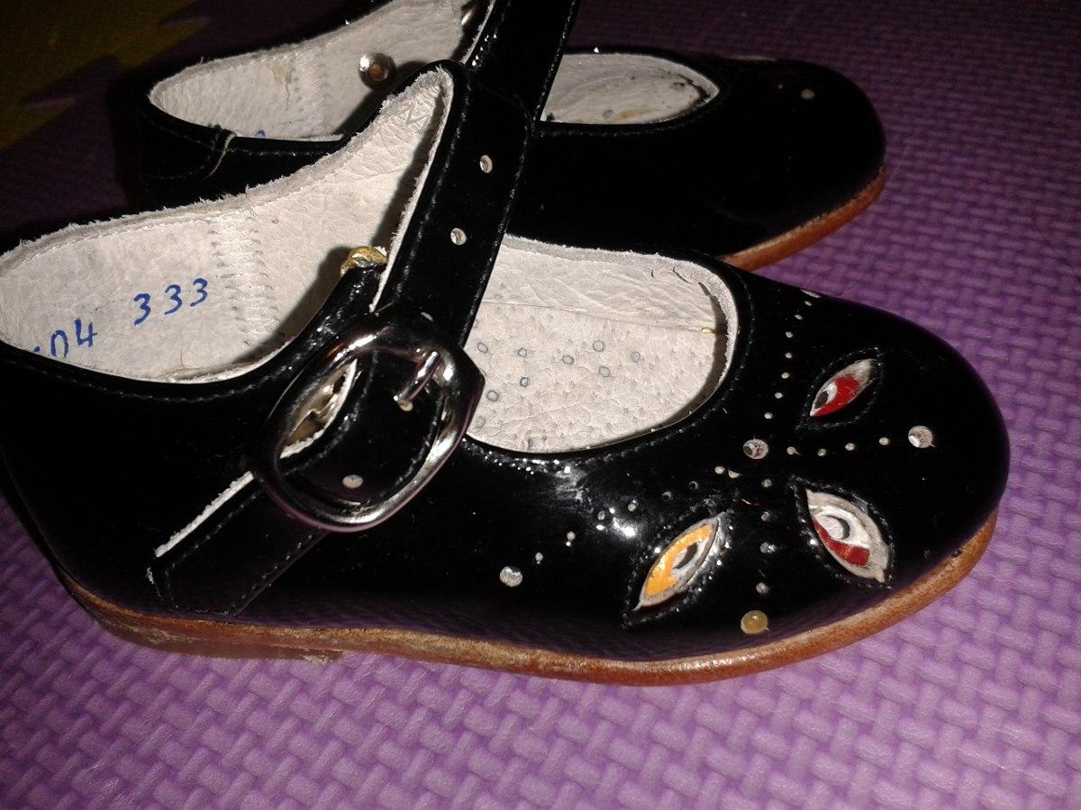 Zapatos de charol marca coqueta para bebita talla 12 cms en mercado libre - Charol zapateria ...