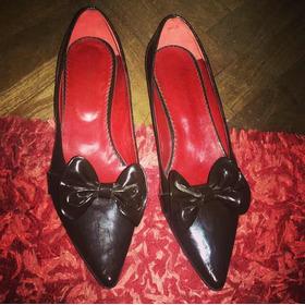 Zapatos De Charol Marrones