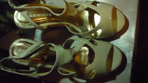zapatos de charol nro.38,37 .nuevos