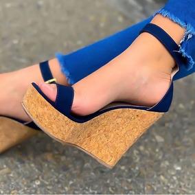 Tacon De Zapatos Zapatos Corrido De Corcho clKJF1T