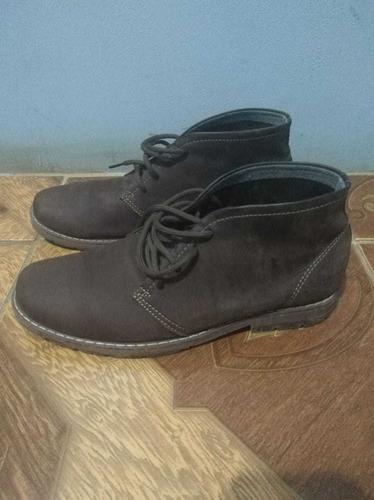 zapatos de cuero 100% cuero, en excelente estado