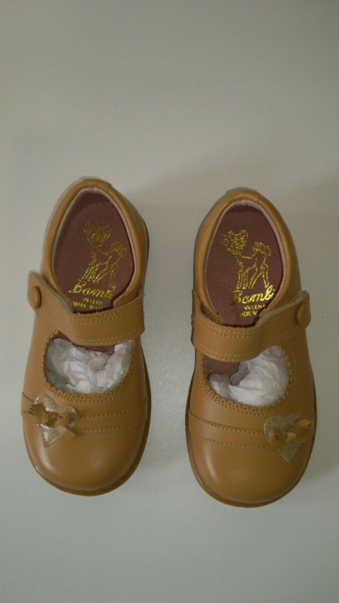a707f9f9 Zapatos De Cuero Bambi Para Nenas Importados. - $ 675,00 en Mercado ...