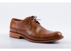 Combinado Hombre Marrón Para Color De Zapatos Cuero Yb76fyvg