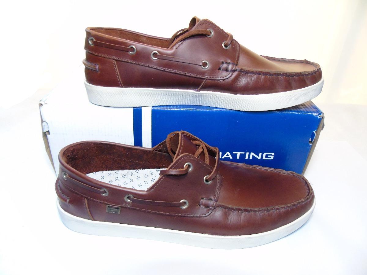 852503131e0b1 Cargando Zoom Boating Gruesa Con De Zapatos Hombre Suela Cuero npSUnqw0