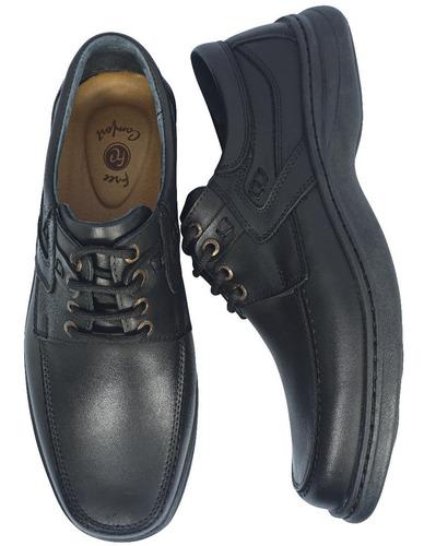 zapatos de cuero cosido  para hombre base febo art 6042