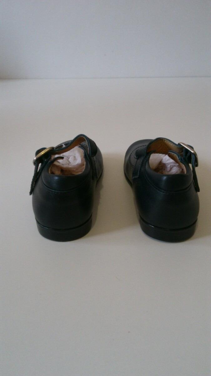 0876909b Zapatos De Cuero Galopín Para Nenas Importados - $ 690,00 en Mercado ...