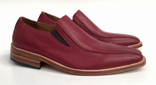 zapatos de cuero hombre vestir base de suela discontinuos