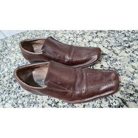 Zapatos De Cuero Marron